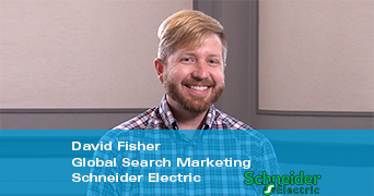 david fisher global search marketing schneider electric