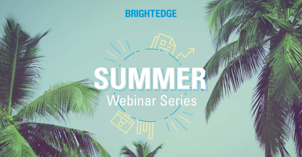 BrightEdge Summer Series Event Page banner
