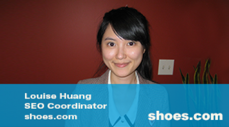 Louise Huang Shoes.com video thumbnail