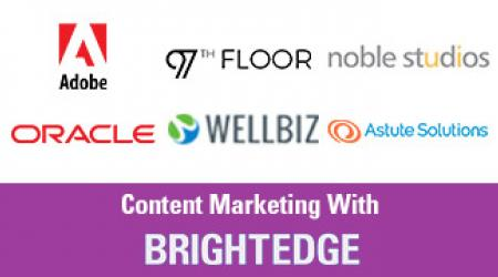 content marketing with brightedge video banner